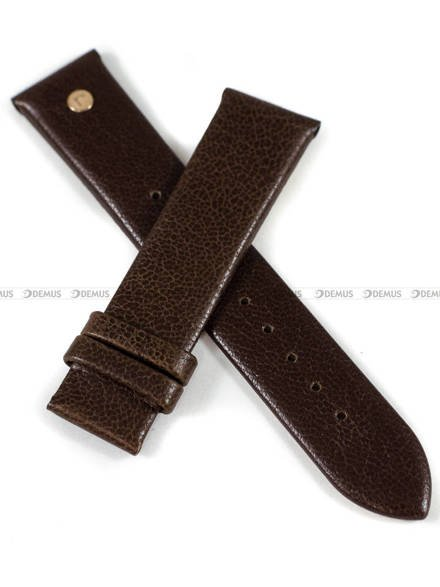 Pasek skórzany do zegarka Roamer - 550660 49 65 05 - 20 mm - bez klamerki