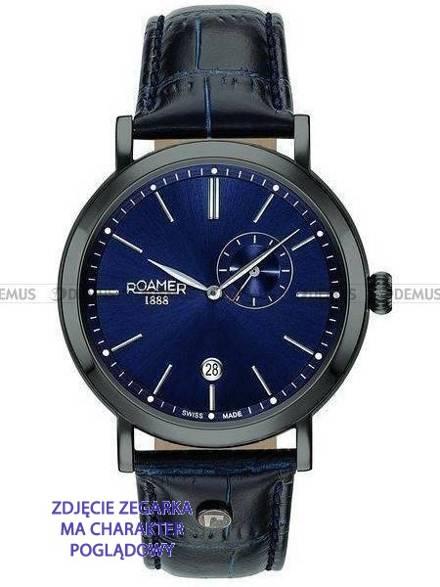 Pasek skórzany do zegarka Roamer - 936950 40 45 09 - 22 mm