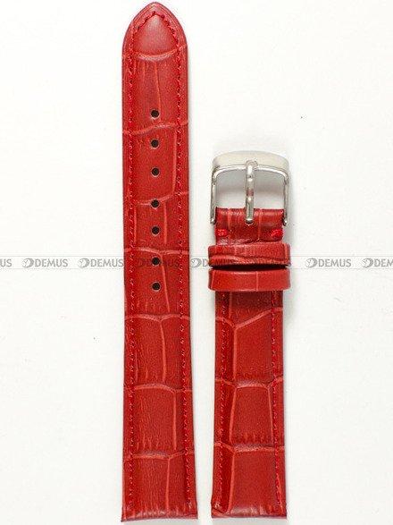 Pasek skórzany do zegarka - Tekla PT22.18.4 - 18 mm