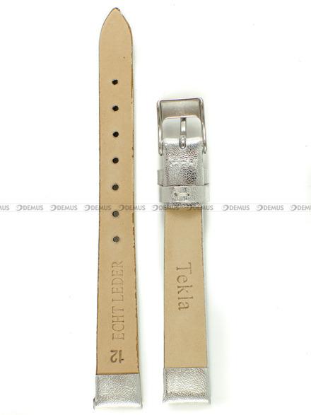 Pasek skórzany do zegarka - Tekla PT41.12.22 - 12 mm