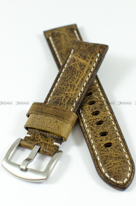 Pasek skórzany do zegarka - Tekla PT49.22.3.7 - 22 mm