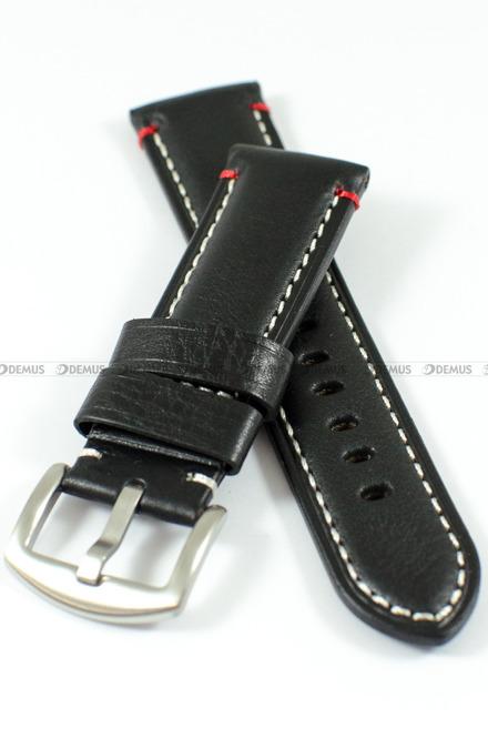 Pasek skórzany do zegarka - Tekla PT49.24.1.7.4 - 24 mm