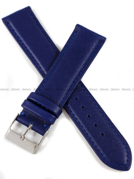Pasek skórzany do zegarka - Tekla PT69.22.5.5-XL - 22 mm