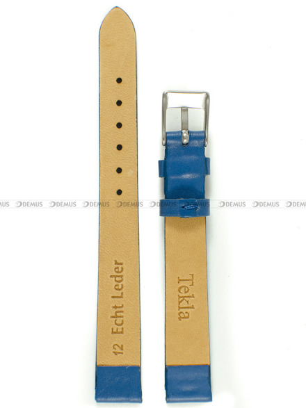 Pasek skórzany do zegarka - Tekla PT8.12.51 - 12 mm