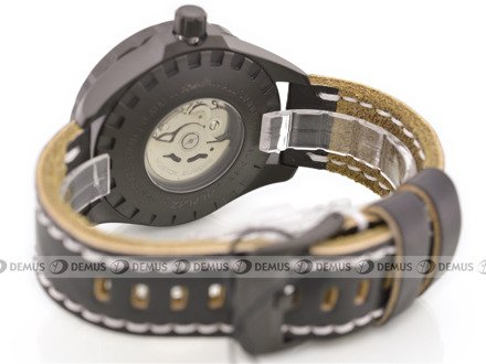 Pasek skórzany do zegarka Vostok Almaz NH35A-320C257 - 22 mm