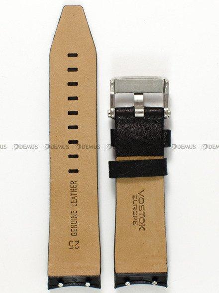 Pasek skórzany do zegarka Vostok Lunokhod YM86-620A505 - 25 mm