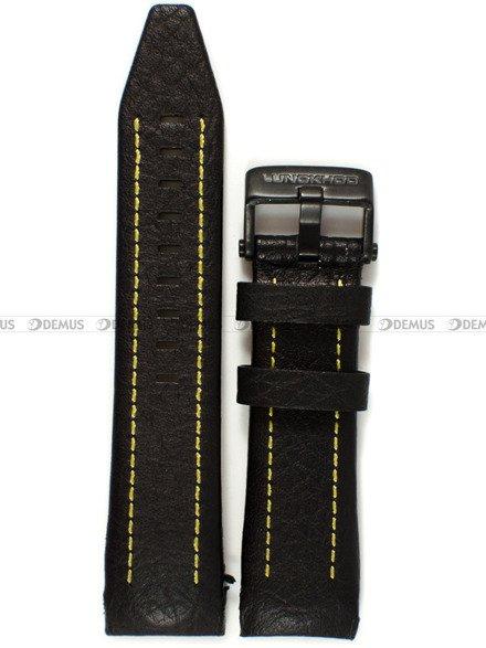 Pasek skórzany do zegarka Vostok Lunokhod YM86-620C504 - 25 mm