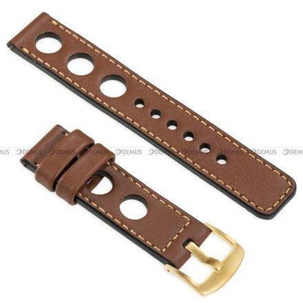 Pasek skórzany do zegarka lub smartwatcha - moVear WQU0R01GD00GDPM18B2 - 18 mm