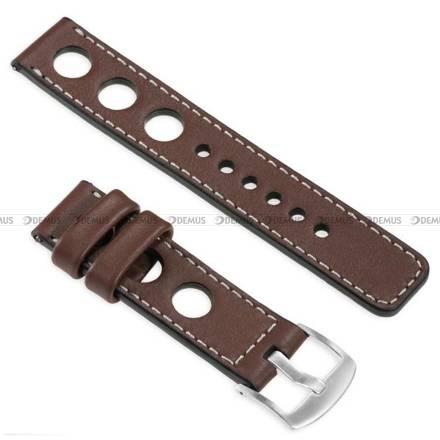 Pasek skórzany do zegarka lub smartwatcha - moVear WQU0R01SL00SLBM20B1 - 20 mm