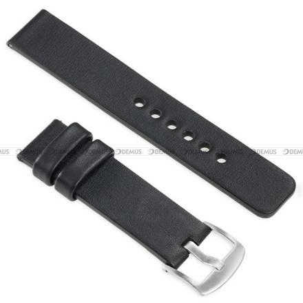 Pasek skórzany do zegarka lub smartwatcha - moVear WQU0S010000SLBM20BK - 20 mm