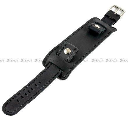 Pasek skórzany z podkładką do zegarka - Horido 0112.01.22S - 22 mm