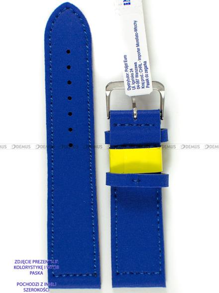Pasek wodoodporny Lycra do zegarka - Morellato A01X5271C90164CR20 - 20 mm