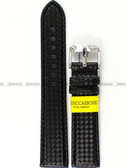 Pasek wodoodporny karbonowy do zegarka - Morellato A01U3586977819CR20 - 20 mm