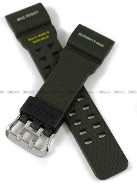 Pasek z tworzywa do zegarków Casio GWG-100-1A3 - 23 mm