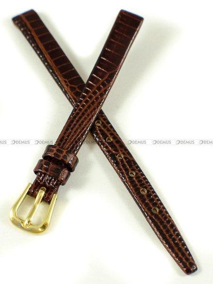 Pasek zaczepowy klejony skórzany do zegarka - K.Reda.3.8.2 - 8 mm