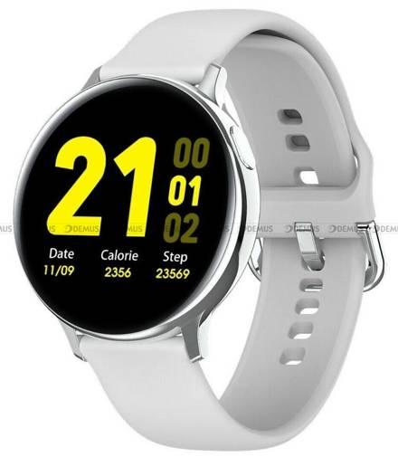 Smartwatch Pacific 24-1-Silver-White