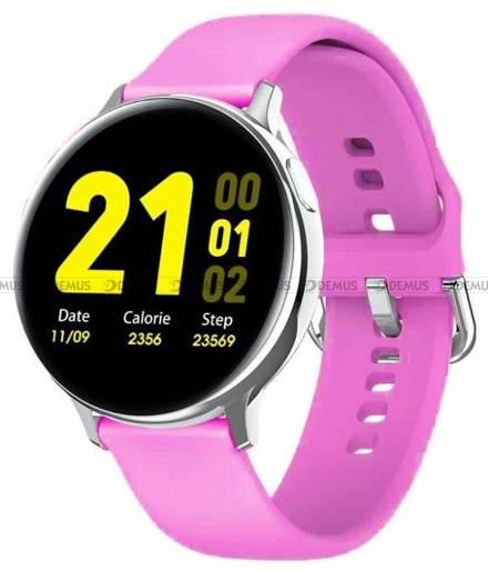 Smartwatch Pacific 24-7-Silver-Violet