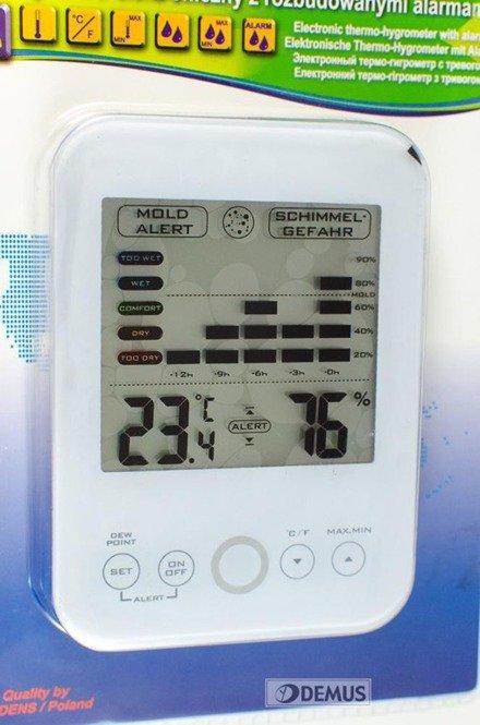 Termohigrometr Terdens 3564-White