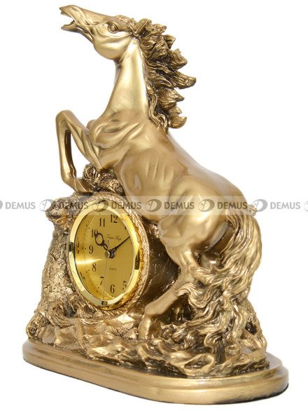 Zegar kominkowy kwarcowy figurka Koń Tempus Fugit K5015