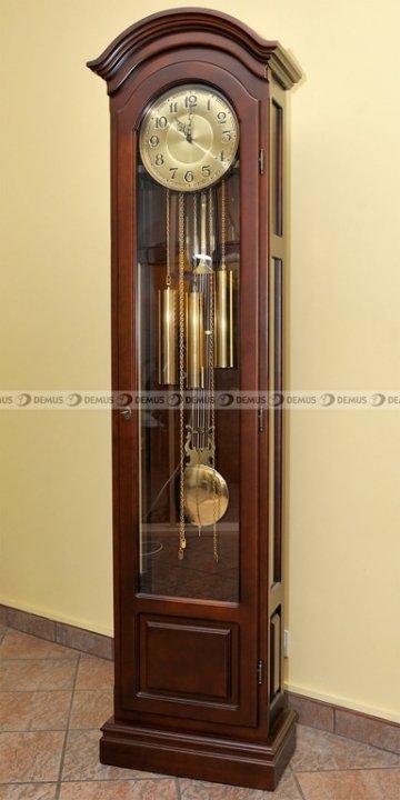 Zegar mechaniczny stojący ARES II-GOLD-BWA