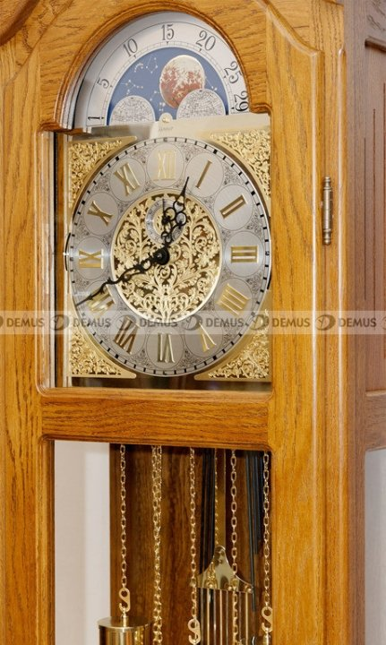 Zegar mechaniczny stojący Hermle Albert-Gold-CD
