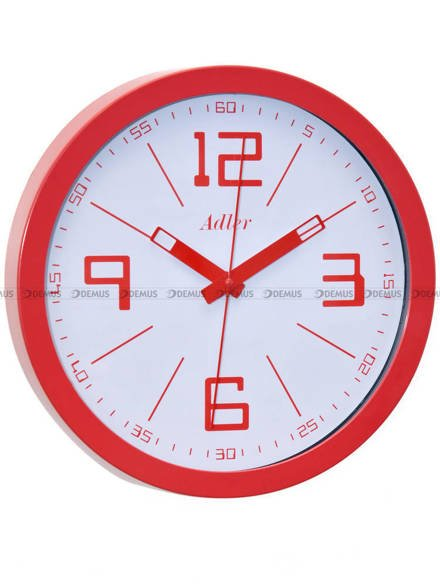 Zegar ścienny Adler 30136-Red
