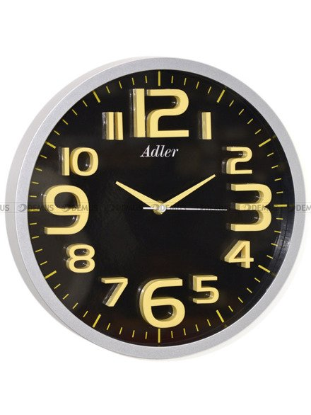 Zegar ścienny Adler 30146-Black