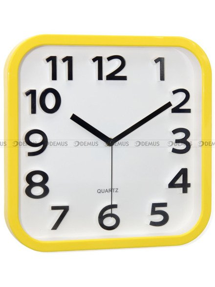 Zegar ścienny Adler 40126-YEL