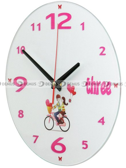 Zegar ścienny Demus S144071-Rower