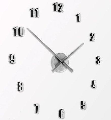 Zegar ścienny ExitoDesign Extender Mini Silver HS-138SL