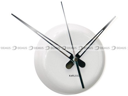 Zegar ścienny Karlsson Ceramic Dot White KA5452WH