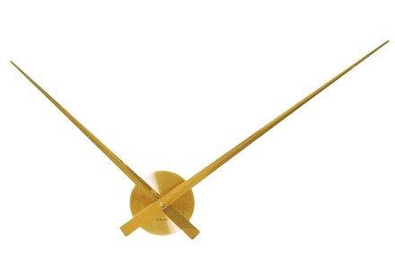 Zegar ścienny Karlsson Little Big Time Alu Gold KA5516GD
