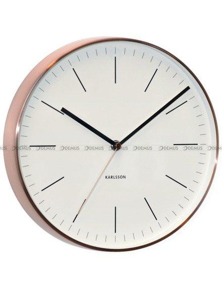 Zegar ścienny Karlsson Minimal White KA5507WH