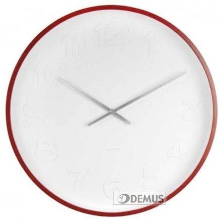 Zegar ścienny Karlsson Mr. White Numbers KA5471