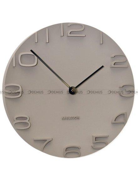 Zegar ścienny Karlsson On The Edge Warm Grey KA5311GY