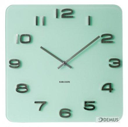Zegar ścienny Karlsson Vintage Pastel Green KA5488PG