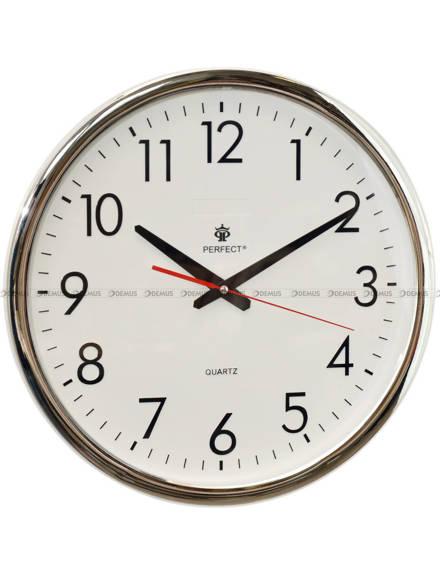 Zegar ścienny Perfect FX-823AK-Chrom - 40 cm