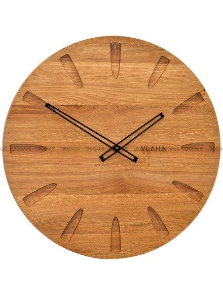 Zegar ścienny Vlaha VCT1022 - Z litego drewna dębowego