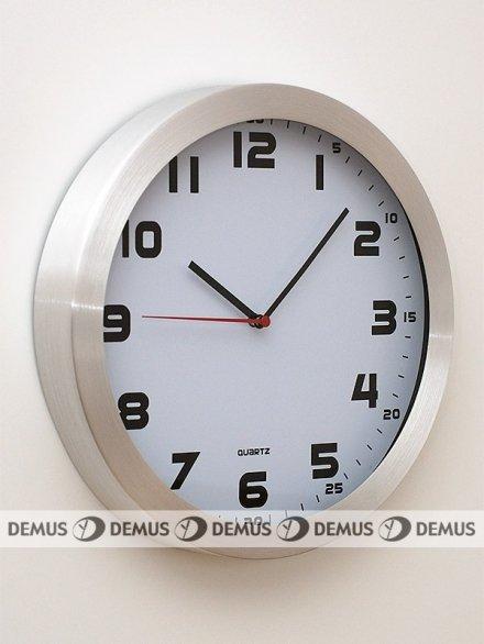 Zegar ścienny aluminiowy E01.2482.7000