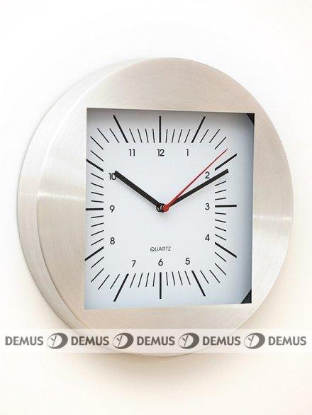 Zegar ścienny aluminiowy M2712-B