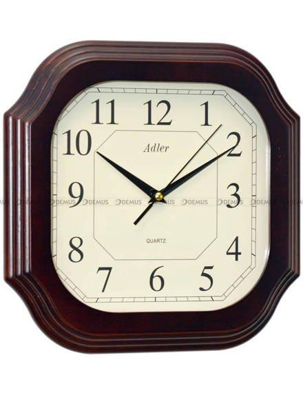Zegar ścienny drewniany Adler 21005-W