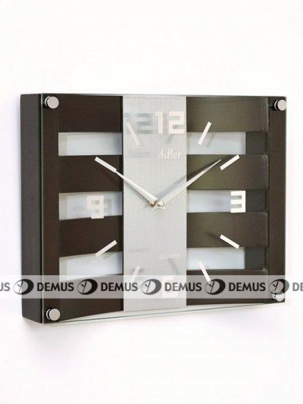 Zegar ścienny drewniany Adler 21113-W