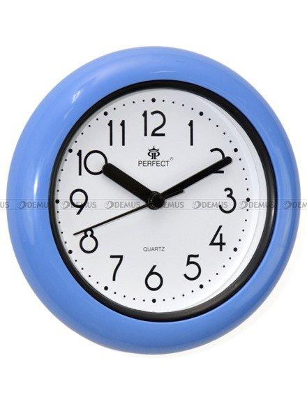Zegar ścienny wodoszczelny łazienkowy Perfect FX019-N