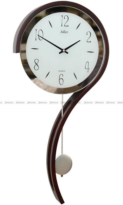 Zegar wiszący kwarcowy Adler 20216-W