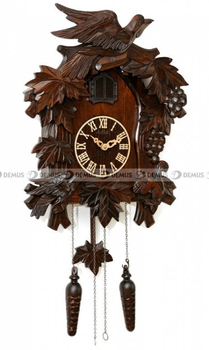 Zegar wiszący z kukułką Adler 24009-W