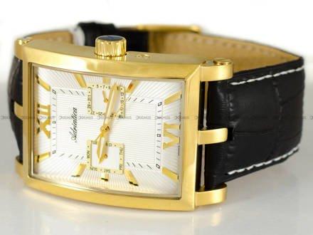 Zegarek Adriatica A1112.1263QF męski pozłacany na skórzanym pasku