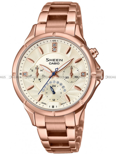 Zegarek Casio Sheen SHE 3047PG 9AUER