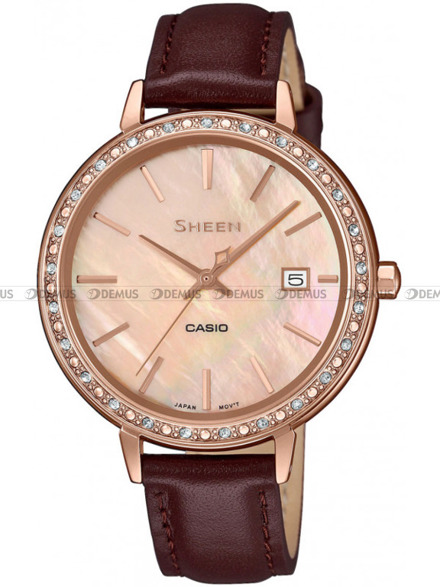 Zegarek Damski Casio Sheen SHE 4052PGL 4AUEF