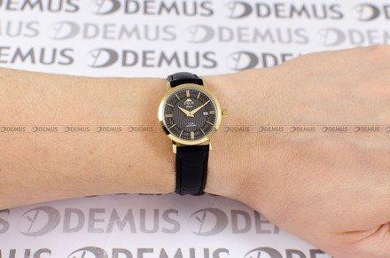 Zegarek Damski FujiTime L6106Q-Gold-Czarny
