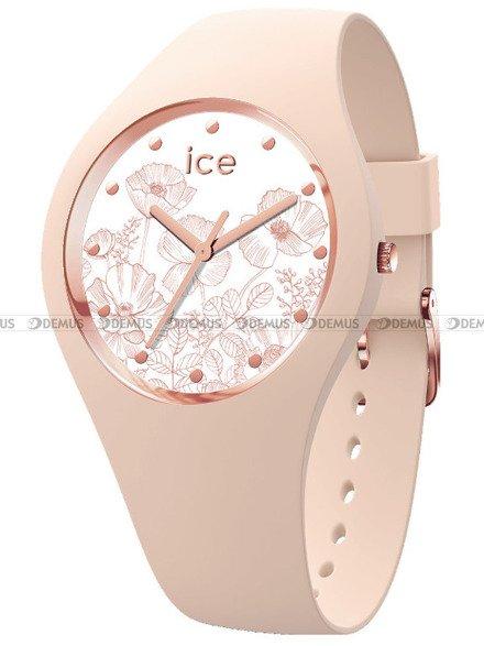 Zegarek Damski Ice-Watch - Ice Flower Spring Nude 016670 M